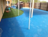 FlexGround Poured in Place and FlexGrass Synthetic Grass