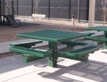 Square Picnic Table by Premier Polysteel