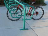 SPR-DBL-11-SF-P Custom Green w bike