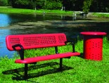 ac -IMF_200202091_6ft_Heritage_Vinyl_Bench_Back_Arms_Red
