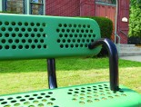 ak -IMF_200202091_6ft_Heritage_Vinyl_Bench_Arms_green_detail