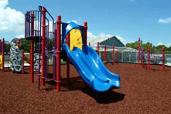 Playgroud Rubber Mulch GroundSmart Red 1