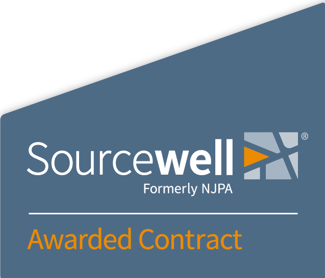 Sourcewell logo blue